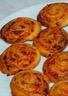 Roulé feuilleté au chorizo et jambon