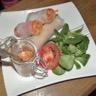 Rouleaux de printemps au saumon radis noir et fenouil