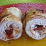 Roulés de dinde farcis au bacon mozzarella et tomates séchées