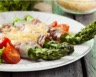 Roulés de jambon cru aux asperges et parmesan
