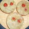 Sablé de sarrasin au basilic et fraises
