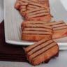 Sablé Surprise à la Groseille & poudre de Biscuit Rose Fossier
