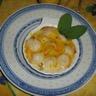 Saint-Jacques fondue de poireaux et sauce au safran