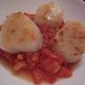 Saint-jacques poêlées à la tomate