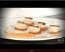 Saint-Jacques poêlées aux épices purée et palets de patates douces