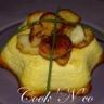Saint-Jacques rôties flan au parmesan