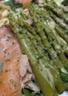 Salade asperges thon et saumon fumé