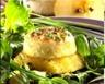 Salade aux crottins de chèvre et aux pommes