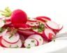 Salade aux deux radis