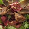 Salade aux magrets tomates séchées et coeur d'artichauts