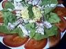 Salade cabillaud
