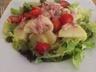 Salade chaude pommes de terre et lardons