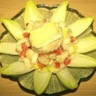 Salade classique d'endives noix et camembert
