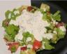 Salade composée aux tomates jambon et gruyère