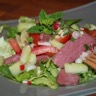 Salade composée d'inspiration thaïe