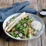 Salade d'asperges des Sables des Landes IGP et son œuf poché