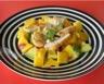 Salade d'avocat mangue et poulet grillé