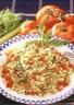 Salade d'Ebly® à la rhubarbe
