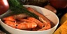 Salade d'ebly® aux nectarines et aux crevettes