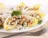 Salade d'endives au roquefort et aux noix