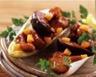Salade d'endives aux figues poulet et mimolette à l'aigre doux