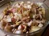 Salade d'endives aux noix et jambon fumé