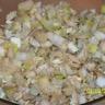 Salade d'endives aux pommes de terres poulet tomme de Savoie et noix
