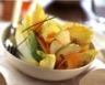 Salade d'endives aux pommes noix et mimolette