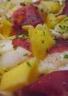 Salade d' endives et filets de magret de canard aux pommes
