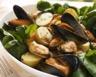 Salade d'épinards aux fruits de mer