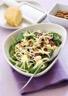 Salade d'épinards aux tomates séchées