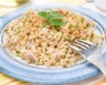 Salade de blé et fruits de mer à ma façon