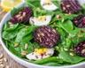Salade de blettes betteraves rouges et oeufs durs