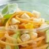 Salade de carottes avocat et Reblochon à l'orange