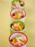 Salade de carottes et pommes râpées