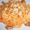 Salade de carottes panais et tofu