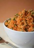 Salade de carottes râpées au quinoa