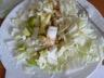 Salade de chou chinois sucrée-salée