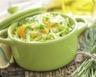 Salade de chou vert et carottes