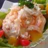 Salade de crabe exotique