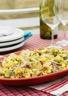 Salade de crevettes au maïs et aux fèves
