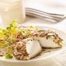 Salade de crottin de chèvre aux graines