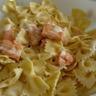 Salade de farfalle au saumon