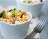 Salade de farfalles au jambon feta et olives