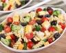 Salade de farfalles brocoli olives noires et comté