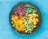 Salade de fruits relevée au rhum