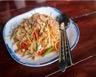 Salade de germes de soja aux crevettes
