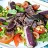 Salade de gésiers de canard confit