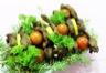 Salade de gésiers de canard et de foie gras