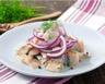 Salade de hareng marinés